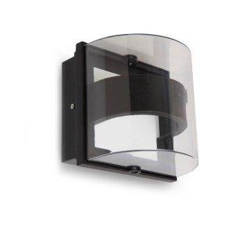 Lutec DELTA Applique da esterno Antracite, 1-Luce