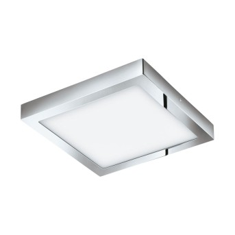 EGLO connect FUEVA-C Lampade LED Cromo, 1-Luce, Cambia colore