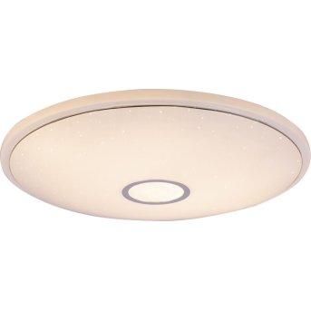 Plafoniera Globo CONNOR LED Bianco, 1-Luce, Telecomando, Cambia colore