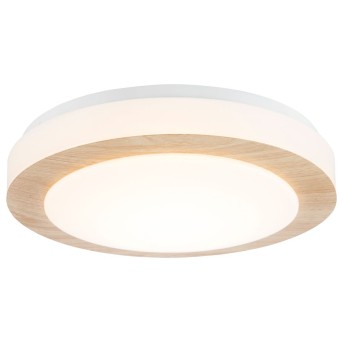Nino Leuchten GORDON Plafoniera LED Bianco, 1-Luce