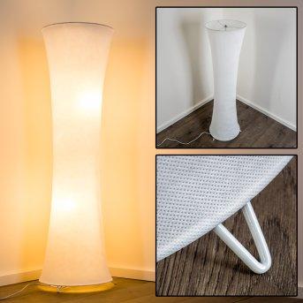 HERON Lampada da Terra Bianco, 2-Luci