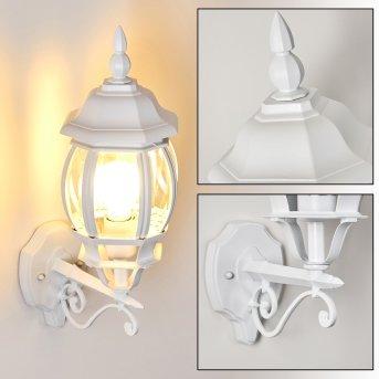 Lentua Applique da esterno Bianco, 1-Luce