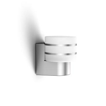 Philips Hue White Tuar Applique LED Argento, Alluminio, 1-Luce