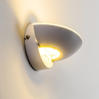 Dominical Applique LED Bianco, 2-Luci