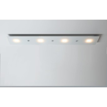 Escale Studio Plafoniera LED Bianco, 4-Luci