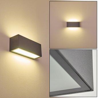 Applique da esterno Spidern LED Antracite, 1-Luce