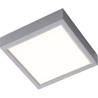 Nino-Leuchten PUCCY Plafoniera LED Argento, 1-Luce