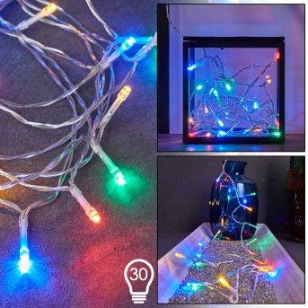 Sondrio Catenaria luminosa LED, 30-Luci