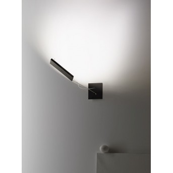 Ingo Maurer WaLL.E.D Applique LED Cromo, 1-Luce