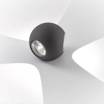 AEG Gus Applique da esterno LED Antracite, 3-Luci