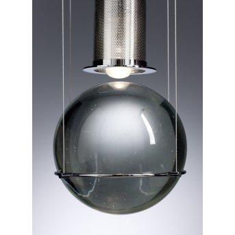 Tecnolumen Le tre streghe Lampada a sospensione LED Cromo, 1-Luce