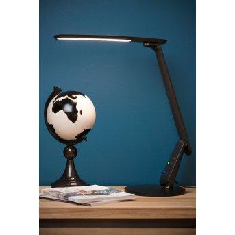 Lucide PRACTICO Lampada da scrivania LED Nero, 1-Luce