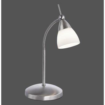 Paul Neuhaus PINO Lampada da Tavolo LED Acciaio inox, 1-Luce