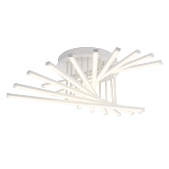 AEG Cyrus Plafoniera LED Bianco, 1-Luce