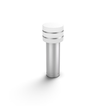 Philips Hue White Tuar Lampada con piedistallo LED Argento, Acciaio inox, 1-Luce