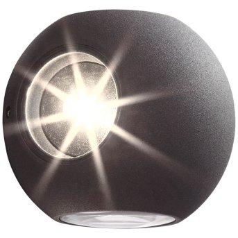 AEG Gus Applique da esterno LED Antracite, 4-Luci