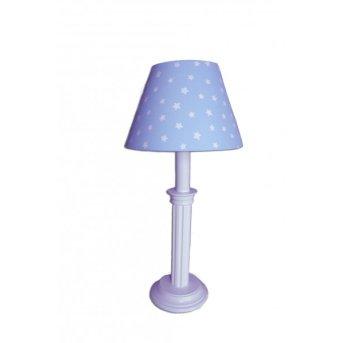 Waldi Sternchen Lampada da tavolo Blu, 1-Luce