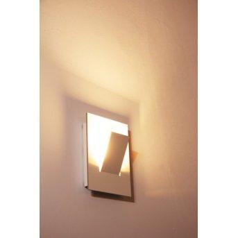 Eva Luz Alpha Applique LED Bianco, 1-Luce