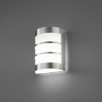 Faro Cela Applique per esterno Nichel opaco, 1-Luce