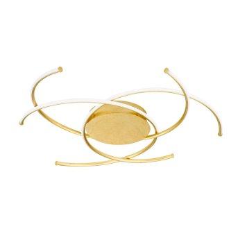 Wofi JULS Plafoniera LED Oro, 1-Luce