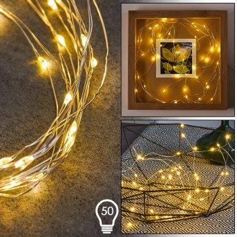 Sondrio Catenaria luminosa LED, 50-Luci