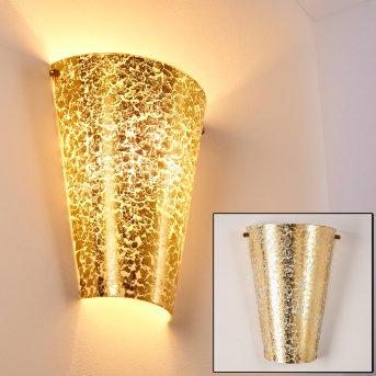 Zera Applique Oro, 1-Luce