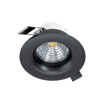 Eglo SALICETO Lampada da incasso LED Nero, 1-Luce