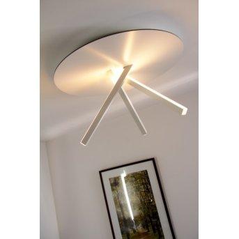 Eva Luz Orion Plafoniera LED Bianco, 3-Luci