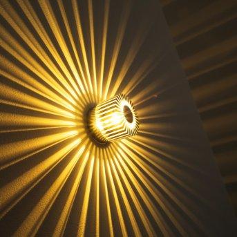 Cantoni Applique Nichel opaco, 1-Luce