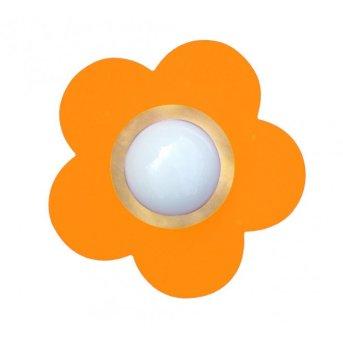 Waldi Fleur petit Plafoniera Arancione, 1-Luce