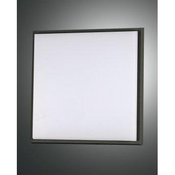 Fabas Luce Desdy Plafoniera da esterno LED Nero, 1-Luce