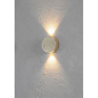 Escale SUN Applique LED Oro, 2-Luci