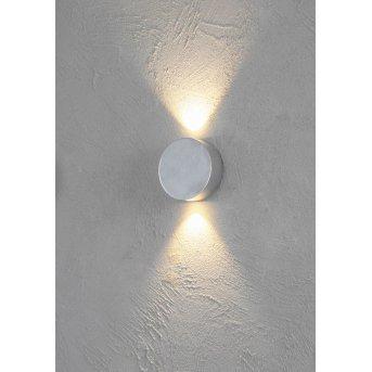 Escale SUN Applique LED Alluminio, 2-Luci