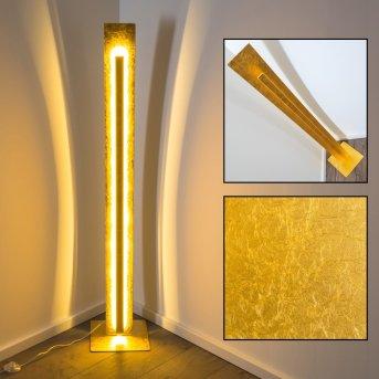 Petrolia Lampada da terra LED Oro, 1-Luce