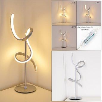 Lavaca Lampada da Tavolo LED Argento, 1-Luce