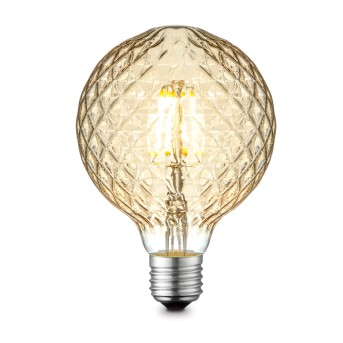 Globo lampadina a LED E27 4 watt 2700 kelvin 380 lumen