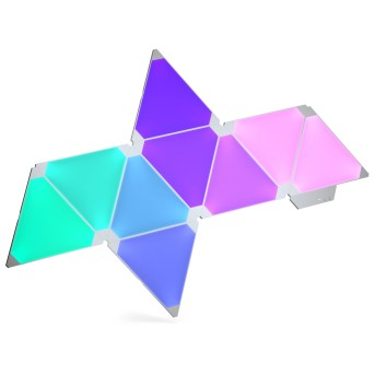 nanoleaf Applique 3 confezione LED Bianco, 1-Luce, Telecomando, Cambia colore