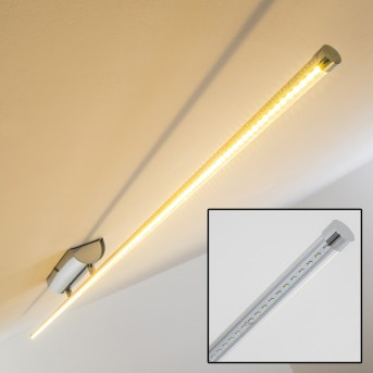 Slave Plafoniera LED Cromo, 1-Luce